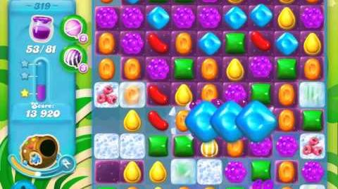 Candy Crush Soda Saga Level 319 (3 Stars)