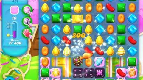 Candy Crush Soda Saga Level 481 (3rd version, 3 Stars)