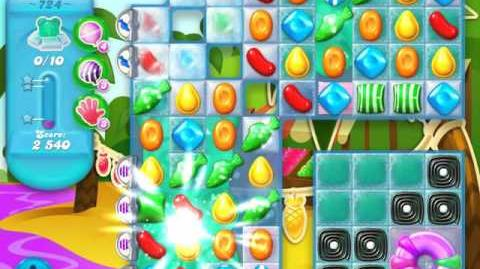 Candy Crush Soda Saga Level 724 (3 Stars)