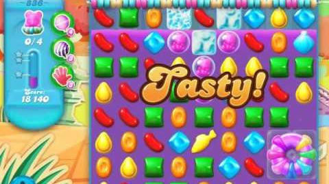 Candy Crush Soda Saga Level 836 (3 Stars)