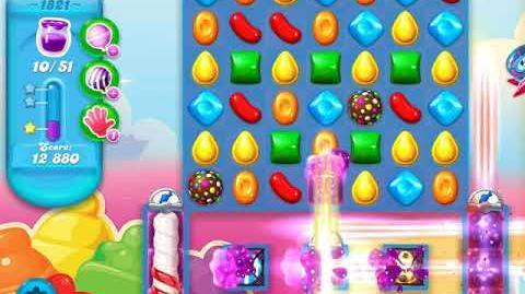 Candy Crush Soda Saga Level 1821 (3 Stars)