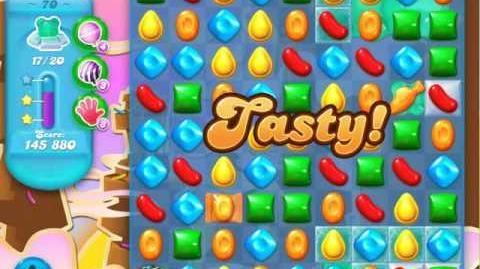 Candy Crush Soda Saga Level 70 (5th version, 3 Stars)