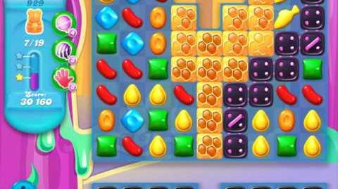Candy Crush Soda Saga Level 929 (10th version, 3 Stars)
