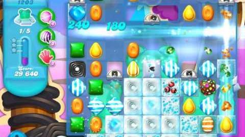 Candy Crush Soda Saga Level 1203 (9th version, 3 Stars)