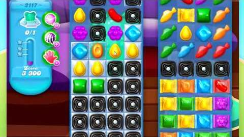 Candy Crush Soda Saga Level 2117 ** NO BOOSTERS
