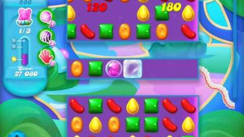 Candy Crush Soda Saga Level 236 (nerfed, 3 Stars)