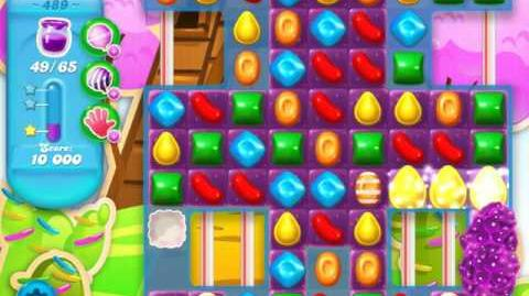 Candy Crush Soda Saga Level 489 (4th version)