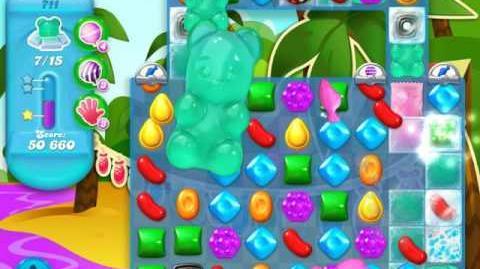 Candy Crush Soda Saga Level 711 (buffed)