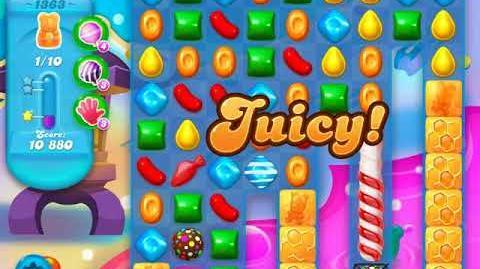 Candy Crush Soda Saga Level 1363 (3rd version, 3 Stars)