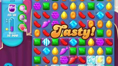 Candy Crush Soda Saga Level 415 (6th version, 3 Stars)
