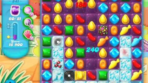 Candy Crush Soda Saga Level 841 (3 Stars)