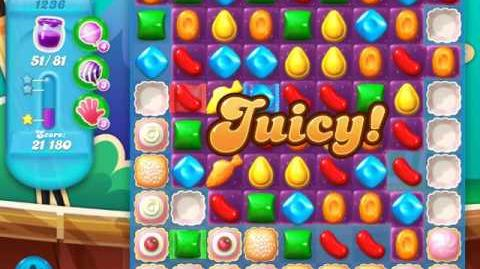 Candy Crush Soda Saga Level 1236 (nerfed, 3 Stars)