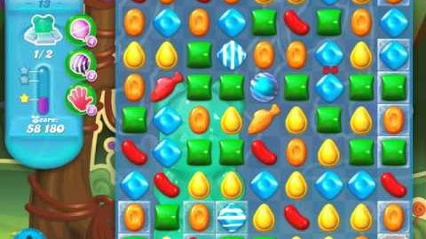 Candy Crush Soda Saga Level 13 (4th version)