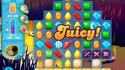 Candy Crush Soda Saga Level 476 (4th version)