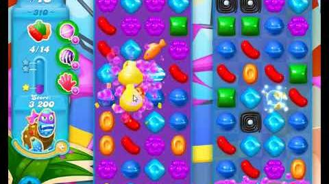Candy Crush Friends Group SODA Level 310 NO BOOSTERS 3Stars