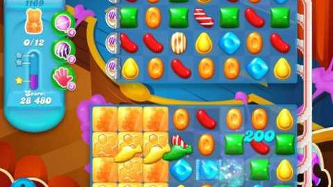 Candy Crush Soda Saga Level 1169 (buffed, 3 Stars)