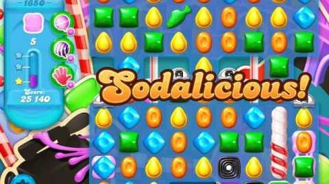 Candy Crush Soda Saga Level 1650 (3 Stars)