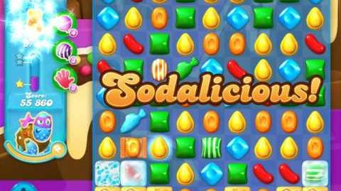Candy Crush Soda Saga Level 636 (8th version, 3 Stars)