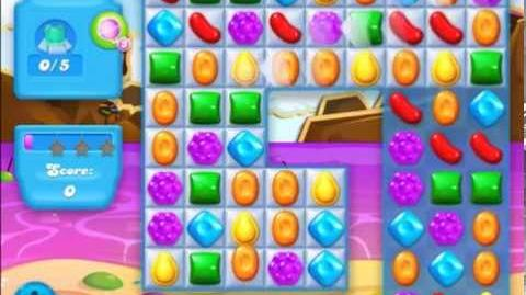Candy Crush Soda Level 16 candy flow direction