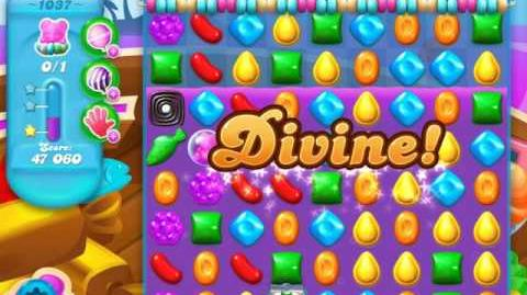Candy Crush Soda Saga Level 1037 (buffed)