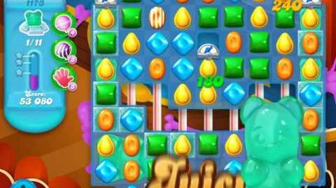 Candy Crush Soda Saga Level 1173 (nerfed)