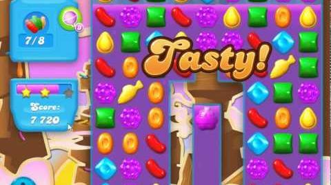Candy Crush Soda Saga Level 61 (22moves, 3 Stars)