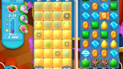 Candy Crush Soda Saga Level 1178 (2nd nerfed)