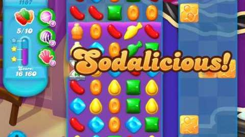 Candy Crush Soda Saga Level 1187 (2nd buffed, 3 Stars)
