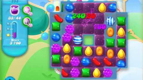 Candy Crush Soda Saga Level 258 (2nd version, 3 Stars)
