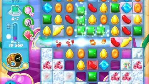 Candy Crush Soda Saga Level 345 (2nd nerfed, 3 Stars)