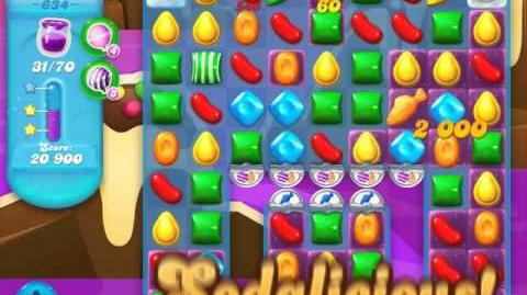Candy Crush Soda Saga Level 634 (3 Stars)