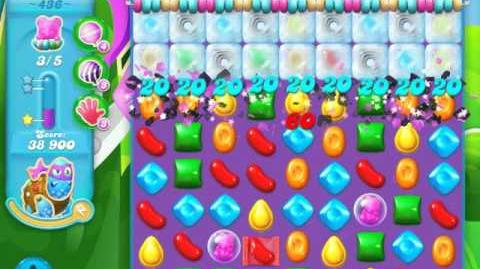 Candy Crush Soda Saga Level 436 (2nd nerfed, 3 Stars)