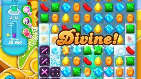 Candy Crush Soda Saga Level 508 (2nd buffed)