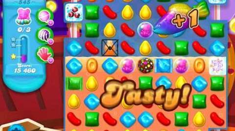 Candy Crush Soda Saga Level 545 (10th version, 3 Stars)