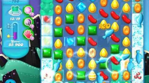 Candy Crush Soda Saga Level 790 (19 bears, 3 Stars)