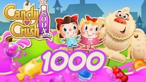 Candy Crush Soda Saga Level 1000