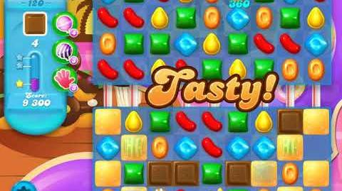 Candy Crush Soda Saga Level 120 (10th version, 3 Stars)