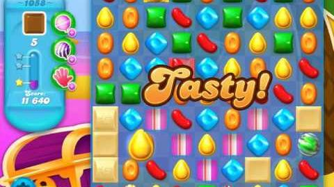 Candy Crush Soda Saga Level 1058