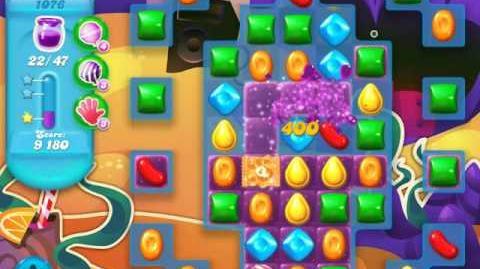 Candy Crush Soda Saga Level 1076 (3 Stars)