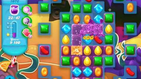 Candy Crush Soda Saga Level 1076 (3 Stars)