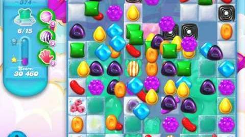 Candy Crush Soda Saga Level 374 (5th version, 3 Stars)