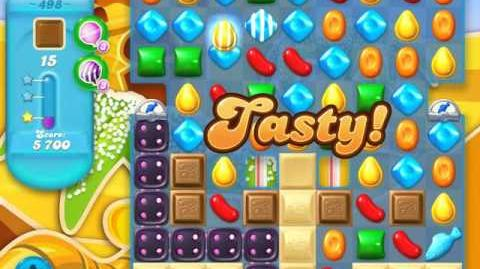 Candy Crush Soda Saga Level 498 (2nd version, 3 Stars)