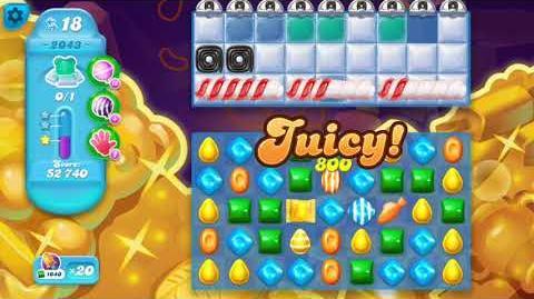 Candy Crush Soda Saga Level 2043