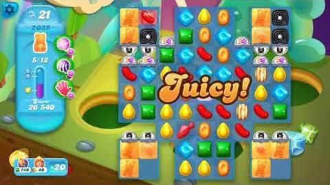 Candy Crush Soda Saga Level 2089