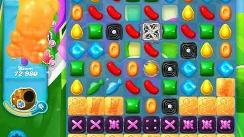 Candy Crush Soda Saga Level 454 (7th version, 3 Stars)