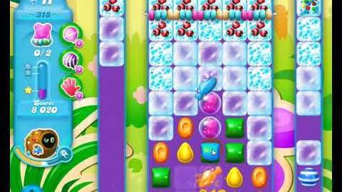 Candy Crush Friends Group SODA Level 318 3Stars Update 291017