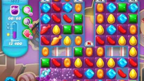Candy Crush Soda Saga Level 1022