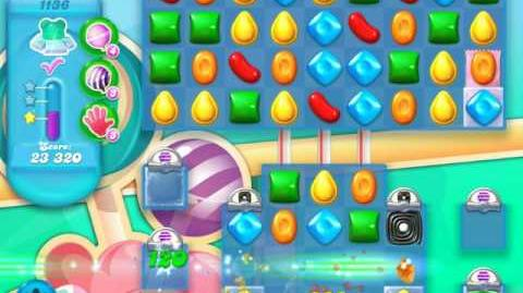 Candy Crush Soda Saga Level 1136 (3 Stars)