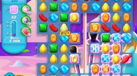 Candy Crush Soda Saga Level 691 (2nd buffed, 3 Stars)