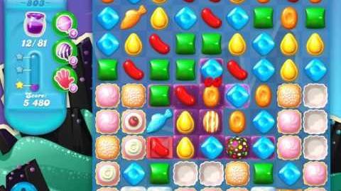 Candy Crush Soda Saga Level 803 (3 Stars)